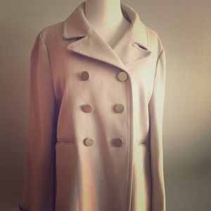 Blush Pink Pea Coat